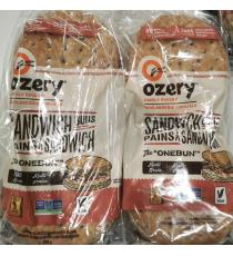 Ozery Un Pain Multi Grains de Pain de mie 2 x 600 g