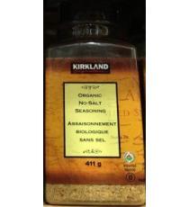 Kirkland Signature Assaisonnement biologique sans sel, 411g