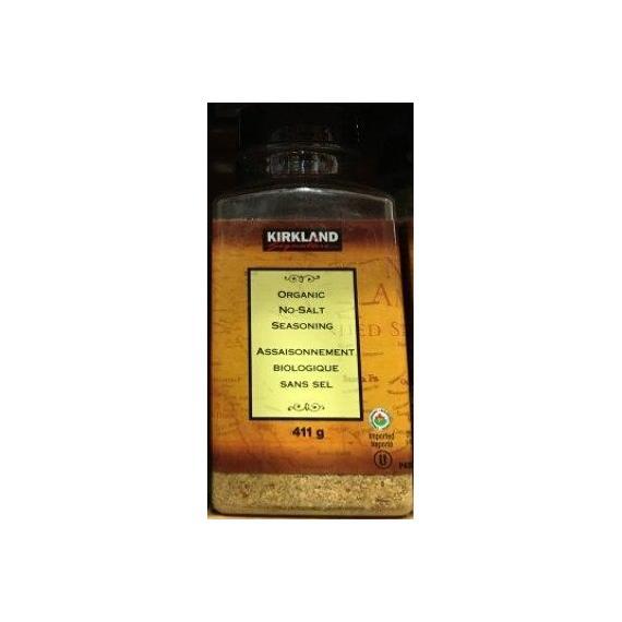 Kirkland Signature Organic No Salt Seasoning, 411 g