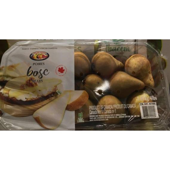 Bosc Pears, 1.81 kg / 4 lb