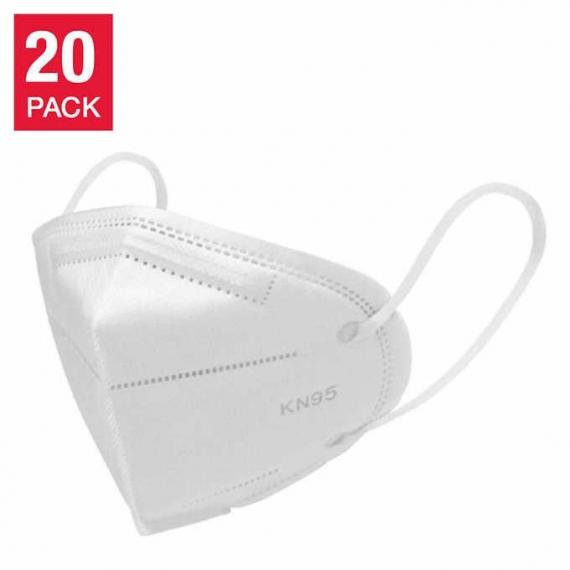 Med Sup Canada, KN95 Disposable 5-layer Face Mask, 20-pack