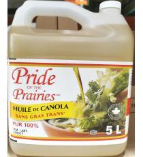Pride of the Prairies, Huile De Canola, 5L