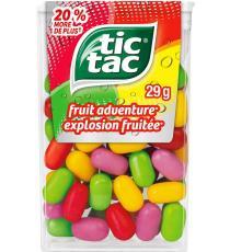 Tic Tac - Menthes explosion fruitée, 29 gr