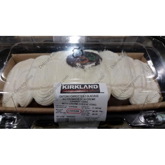 Kirkland Signature Carrot Cake with Cream Cheese Icing 1.15 kg