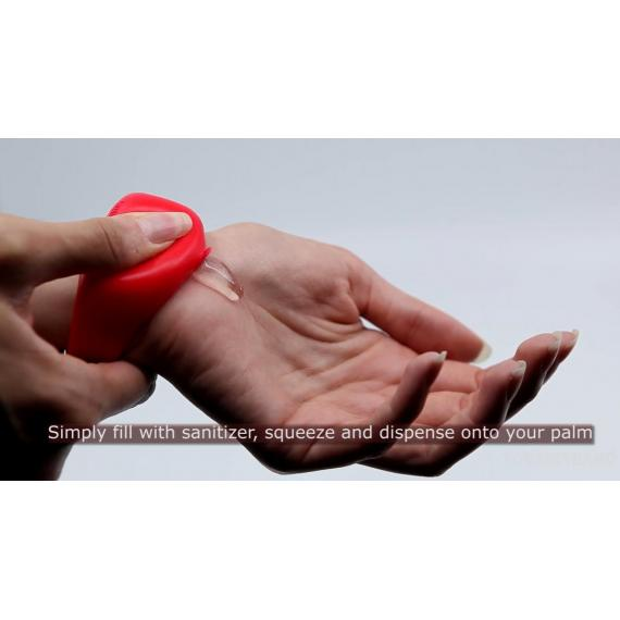 Squeezyband, Adjustable Wristband Hand Sanitizer Dispenser for Adults