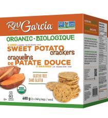 RW Garcia Organic Sweet Potato Crackers 680 g ( 2 x 340 g )