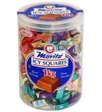 Moritz Icy Squares chocolate, 1 kg