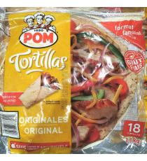 POM d'Origine Tortillas 1.1 kg (18 Tortillas)