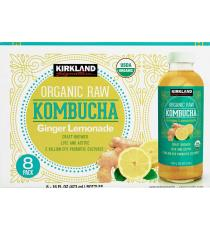GTS Organic Raw Kombucha, 8 x 473 ml