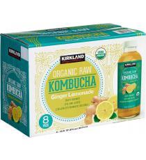 GTS Organic Raw Kombucha, 8 x 473 ml