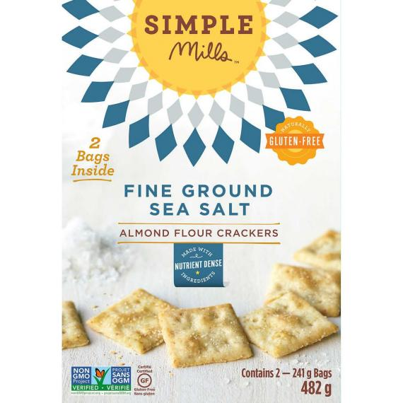 Simple Mille, Fine Ground Sea Salt, 2 bags x 241 g, 482 g