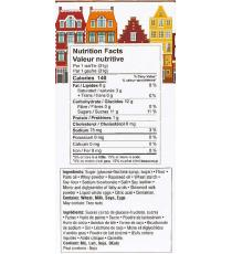Stroopwafels – Toasted Waffles filled with Caramel, 945 gr, 3 packs, 30 pieces