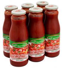 La San Marzano Strained Tomatoes 6 * 660 ml