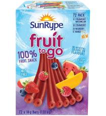 SunRype Fruit Source Bars 72 × 14 g