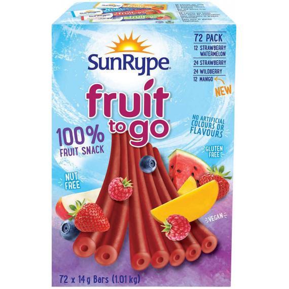 SunRype - Barre aux fruits 72 × 14 g