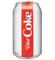 Coke Diet, 24 x 355 g