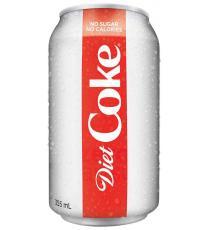 Coke Diète, 24 x 355 g