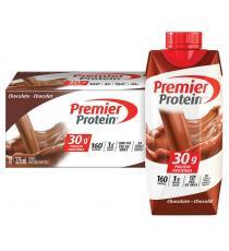Premier Protein Shake au chocolat riche en protéines 325mL, 18 unités