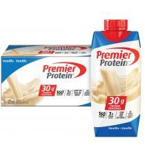 Premier Protein Shake à la vanille riche en protéines 325 ml, 18 unités
