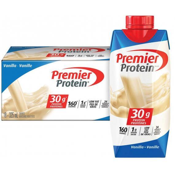 Premier Protein High-protein Vanilla Shake 325 ml, 18-count