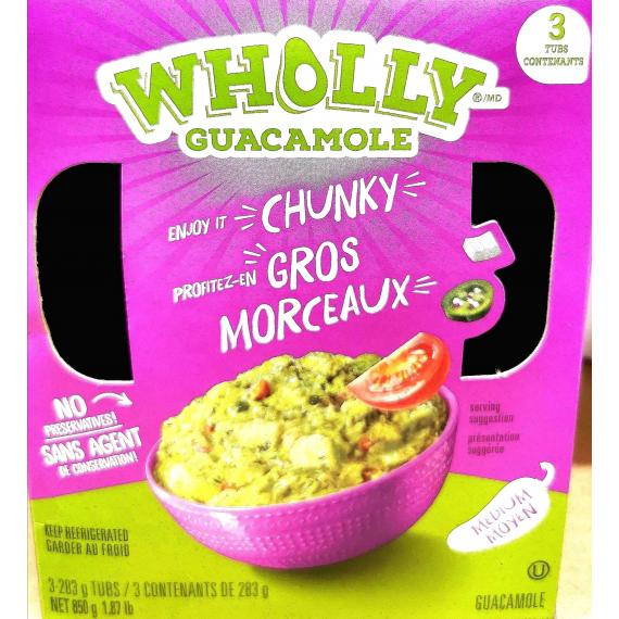 Wholly Guacamole, 3 x 283 g