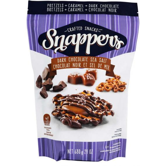 Crafted Snacks Dark Chocolate Snappers, 680 g
