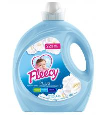 Fleecy Plus Fabric Softener, 4.5 L