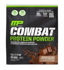 MusclePharm Combat Protéine de lait au chocolat en poudre, sans gluten, sac de 2,72 kg (6 lb)