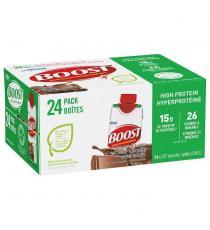 Boost Hyperprotéiné, Substitut de repas liquide , 24 x 237 ml