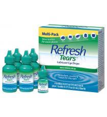 Refresh Tears Lubrifiant Eye Drops Multi-Pack, 65 ml. (4 * 15 ml + 5 ml)