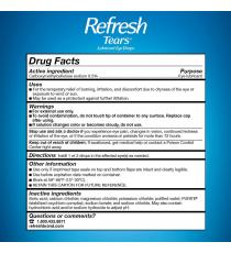 Refresh Tears Lubricant Eye Drops Multi-Pack, 65 ml. (4 * 15 ml + 5 ml)