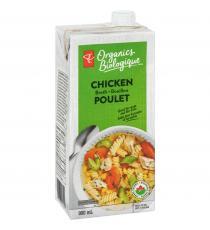 PC biologique Bouillon de poulet, 900 ml