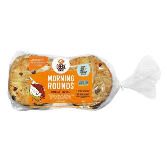 Ozery Morning Rounds Muesli 900 g - 12 buns