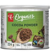 PC biologique Poudre de cacao, 224 gr
