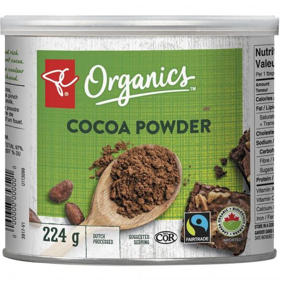 PC ORGANICS Cocoa Powder, 224 g