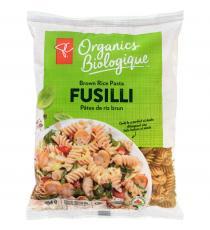 PC ORGANICS Brown Rice Pasta, Fusilli 454 g