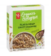 PC biologique Granola lin et chanvre 325 gr