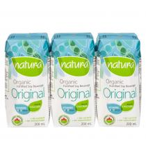 NATURA Organic Soy Original Beverage - 3x200mL
