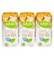NATURA Organic Soy Vanilla Beverage - 3x200mL