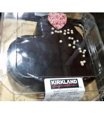 Kirkland Signature White Chocolate Raspberry Heart Cake 0.900 kg