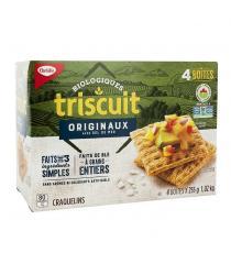 Triscuit Organic Original Crackers 4 × 255 g