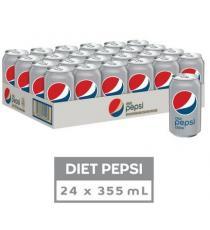Pepsi Diète, 24 x 355 g