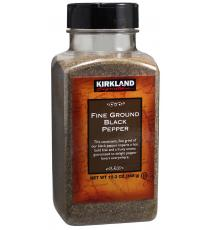 Kirkland Signature Fine Ground Black Pepper, 348 g