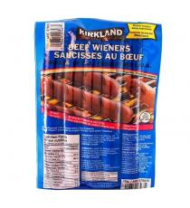 Kirkland Signature - Saucisses au bœuf, Paquet de 14, 1.72 kg