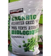 Pois verts biologiques Kirkland Signature, 2.5 kg