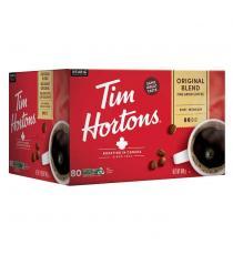 Tim Hortons, capsules K-Cup à portion individuelle, paquet de 80