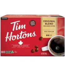 Tim Hortons Original le Mélange de Café, 72 tasses, 756 g