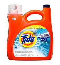 Détergent à lessive liquide Tide Advanced Power OXI 4,87 L