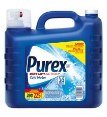 Purex Cold Water Laundry Detergent, 225 wash loads, 9 L