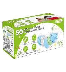 Disposable 3 Layer Face Masks for Kids - Variety 50 Pack